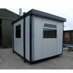 Portable Rectangular Security Cabin