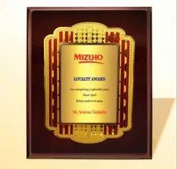 FP 10774 Golden Certificate Memento
