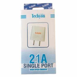 3 A High Speed Electric 2.1 amp usb charger with cable, For Mobile Phone, Cable Size: 1 Meter