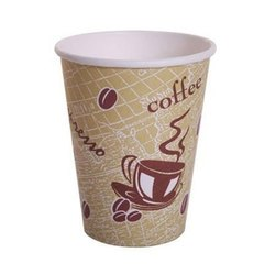 Brown Disposable Paper Coffee Cup, For Event, Capacity: 100 ML
