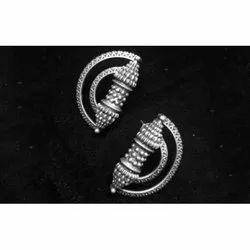 D Shape Antique Earring