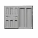 White Cosmetic Blister Tray Thickness 0.5 - 2 Mm