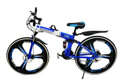 Blue Bmw X6 Foldable Cycle