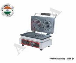 Akasa Indian Waffle Machine - 2 Small Stroop Waffle