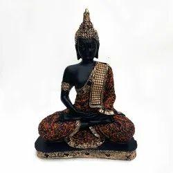 Fatfatiya Beautiful Meditating Gautam Buddha Statue Decorative Showpiece