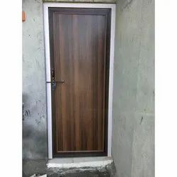 Hinged PVC rDoor, For Home, Exterior
