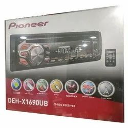 Pioneer Car Music System, Size: 178 X 50 X 165 Mm, Model Name/Number: DEH-X1690UB