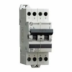 Manual L&T AU MCB Type Changeover Switch