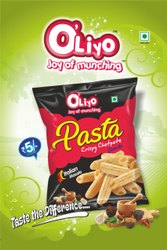OLiyo Pasta, For Snacks, Packaging Type: Packet