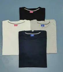 Half Sleeve Casual Wear Women Round Neck T-Shirt