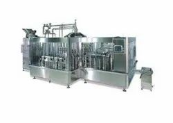 Water Rinsing Filling Capping Line
