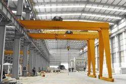 Semi - Gantry EOT Crane