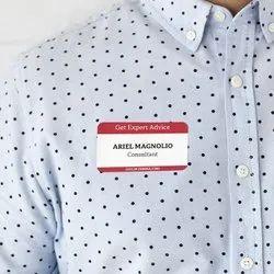 Printed Name Tag Sticker