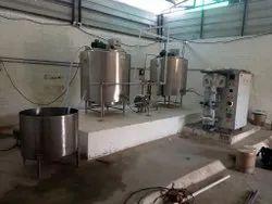 Batch Type Milk Pasteurizer Plant