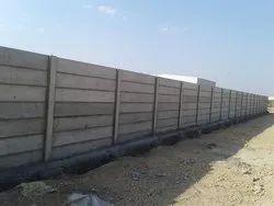 Prefab Build 12 Feet RCC Boundary Wall