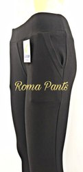 Plain Pants Ladies Roma Trouser, Model Name/Number: RO-001