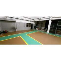 Commercial Building P Ucrete Polyurethane Cementitious Flooring Service, For Indoor, Anti-Skidding
