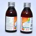 Ambroxol Hydrochloride Guaiphenesin And Levosalbutamol Syrup
