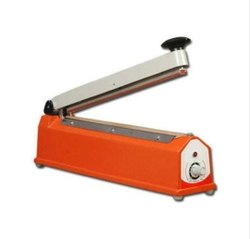 Mild Steel Hand Sealer, Voltage: 230 V, Capacity: 300 Pouch Per Hour