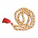Brown Oval 4 Mukhi Indonesian Rudraksha Mala 54 Beads