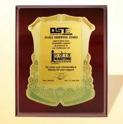 FP 10752 Golden Certificate Memento