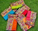 Dola Silk Sarees with Jacquard prints