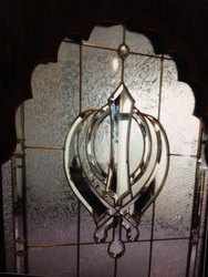 Transparent Religious Door, Thickness: 25 Mm