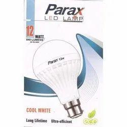 Round Cool daylight Parax 12 W LED Bulb