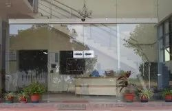 Automatic Glass Sliding Door, For Commercial,Office & Hotel