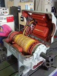 DC Motor Overhauling Service, Pan India