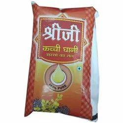 Shreeji Kachchi Ghani Mustard Oil, Packaging Type: Pouch, Packaging Size: 1 litre