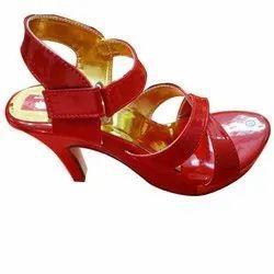 Ladies Party Wear Heel Sandals, Size: 6-11