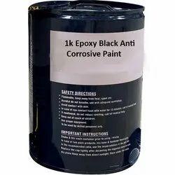 1k Epoxy Black Anti Corrosive Paint