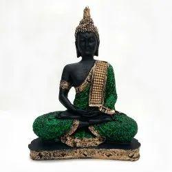 Fatfatiya Beautiful Meditating Lord Gautam Buddha Statue Decorative