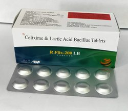 Cefixime & Lactic acid bacillus Tablet