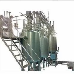 SS Liquid Syrup Manufacturing plant