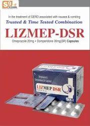 LIZmep-DSR Capsule Omeprazole 20mg   Domperidome 30mg DSR
