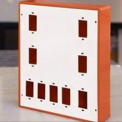 16 & 6 Amp PVC Electric Switch Board, Finishing Type: Wood Finish, 9
