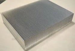 Aluminium Straight Fin Heat Sink