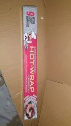 Hot Wrap Silver Aluminum Foils, Thickness: 10.5 Micron, Packaging Size: 9 M