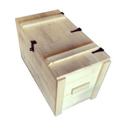 Rectangle Fumigation Process Pine Wooden Box, Weight Holding Capacity(Kg): 70-300 Kg