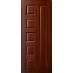 Exterior Finished Wooden Polished Door, For Home