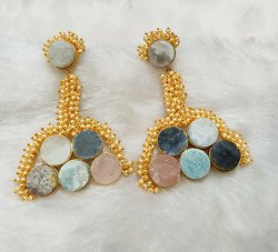 Real Stone Earrings