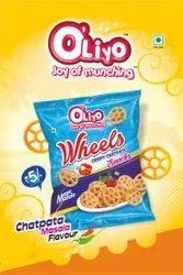 Magic Masala Wheels Crispy Chatpate, Packaging Size: 18G