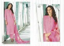 Unstitched Multicolor Sahiba Sudriti Cambric Embroidery Salwar Kameez