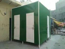Quad Mobile Toilet Cabin