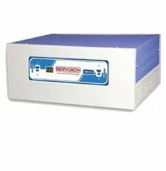 5000 Va Digital Two Phase Blue Automatic Voltage Stabilizer, Floor, 220 V