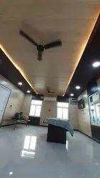 PVC White,Coffee Brown Residential False Ceiling