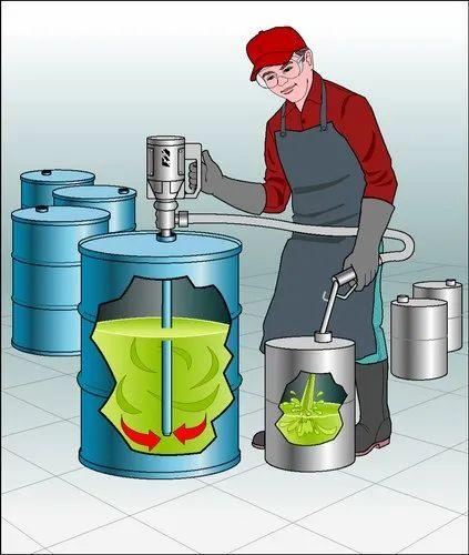 Flame Proof Barrel Pump/ Drum Unloading Pump/ Diesel barrel pump
