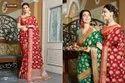 Sangam Prints Vasundhara Handloom Silk Traditional Designer Saree Catalog
